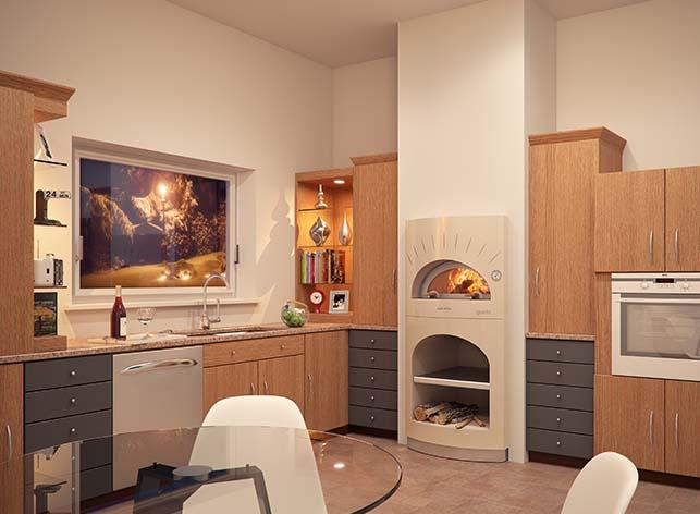 Emejing cucine con forno a legna gallery ideas design - Camini da cucina ...